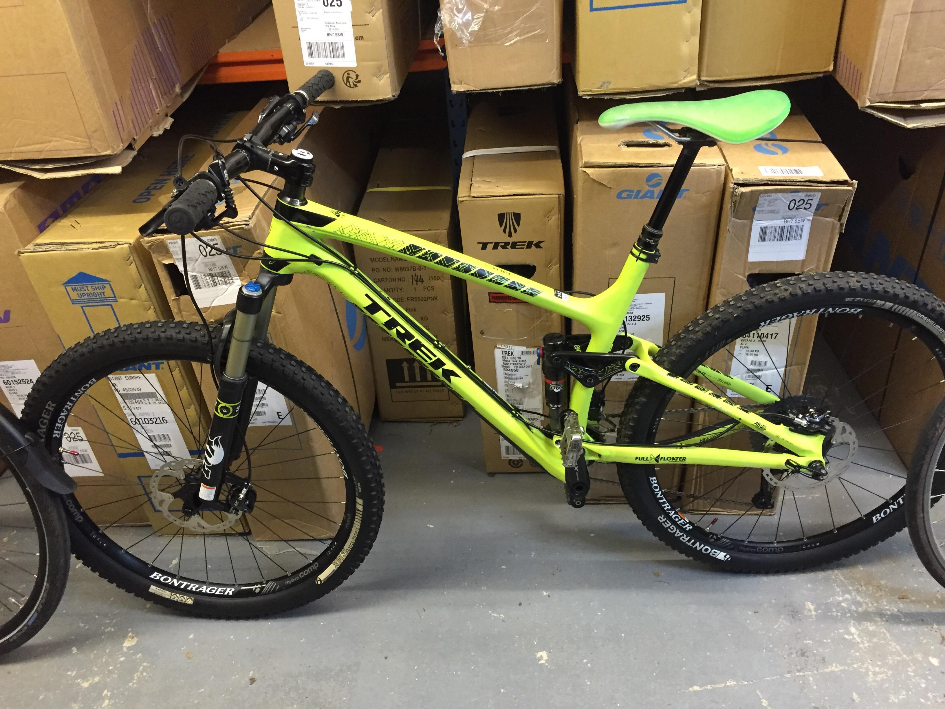 afc21d9cf4b SOLD - Ex Demo Bike - Trek Fuel Ex 9.8 27.5 2015 - 19.5 inch - £2200