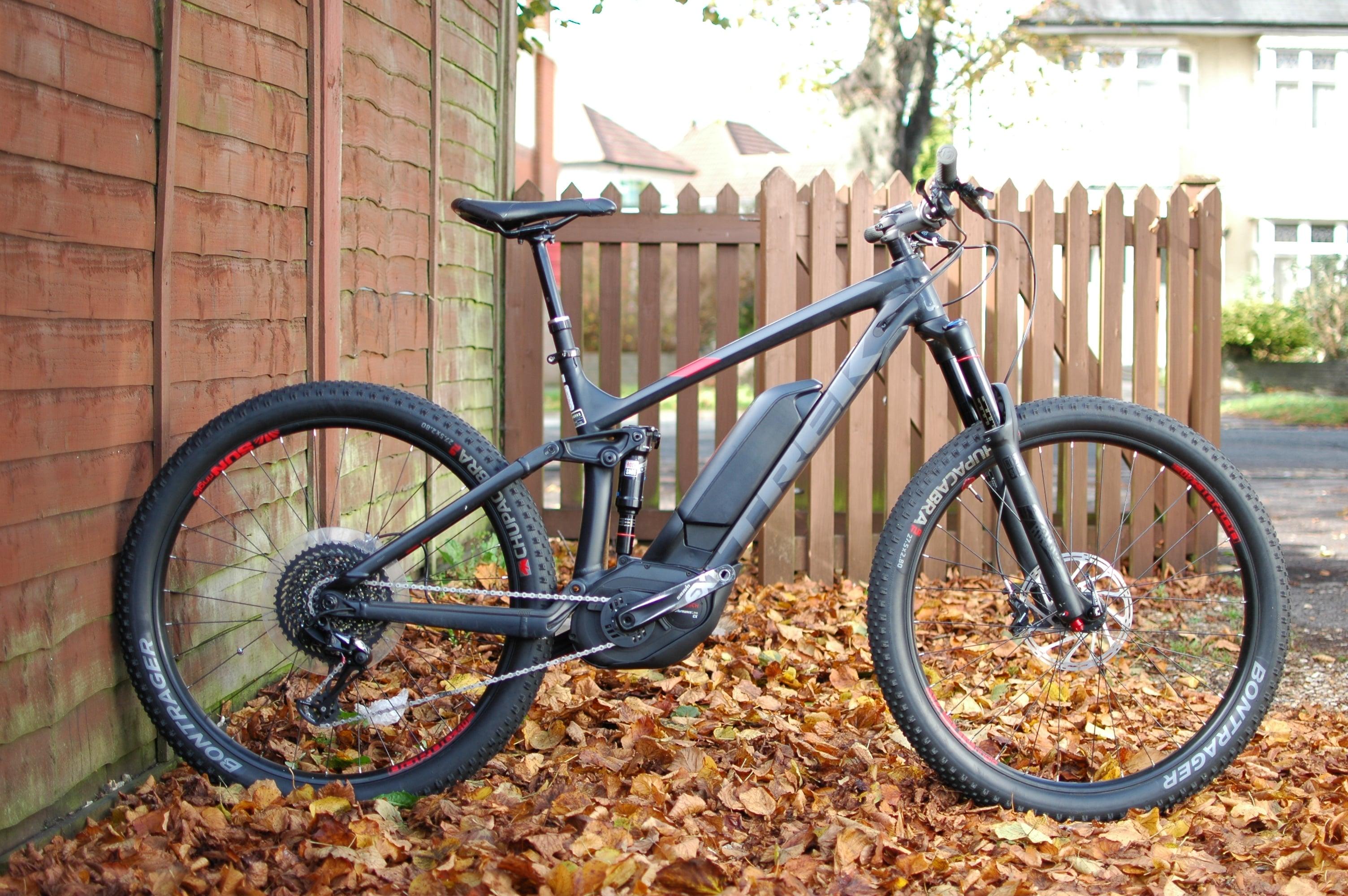 Sold Used Bike Ex Demo Trek Powerfly Fs 9 2017 18 5