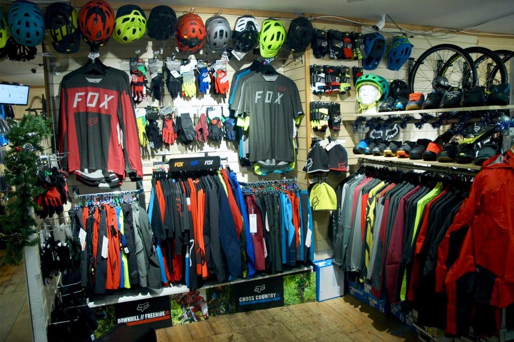 Mountain Bike Clothing from Fox and Gore
