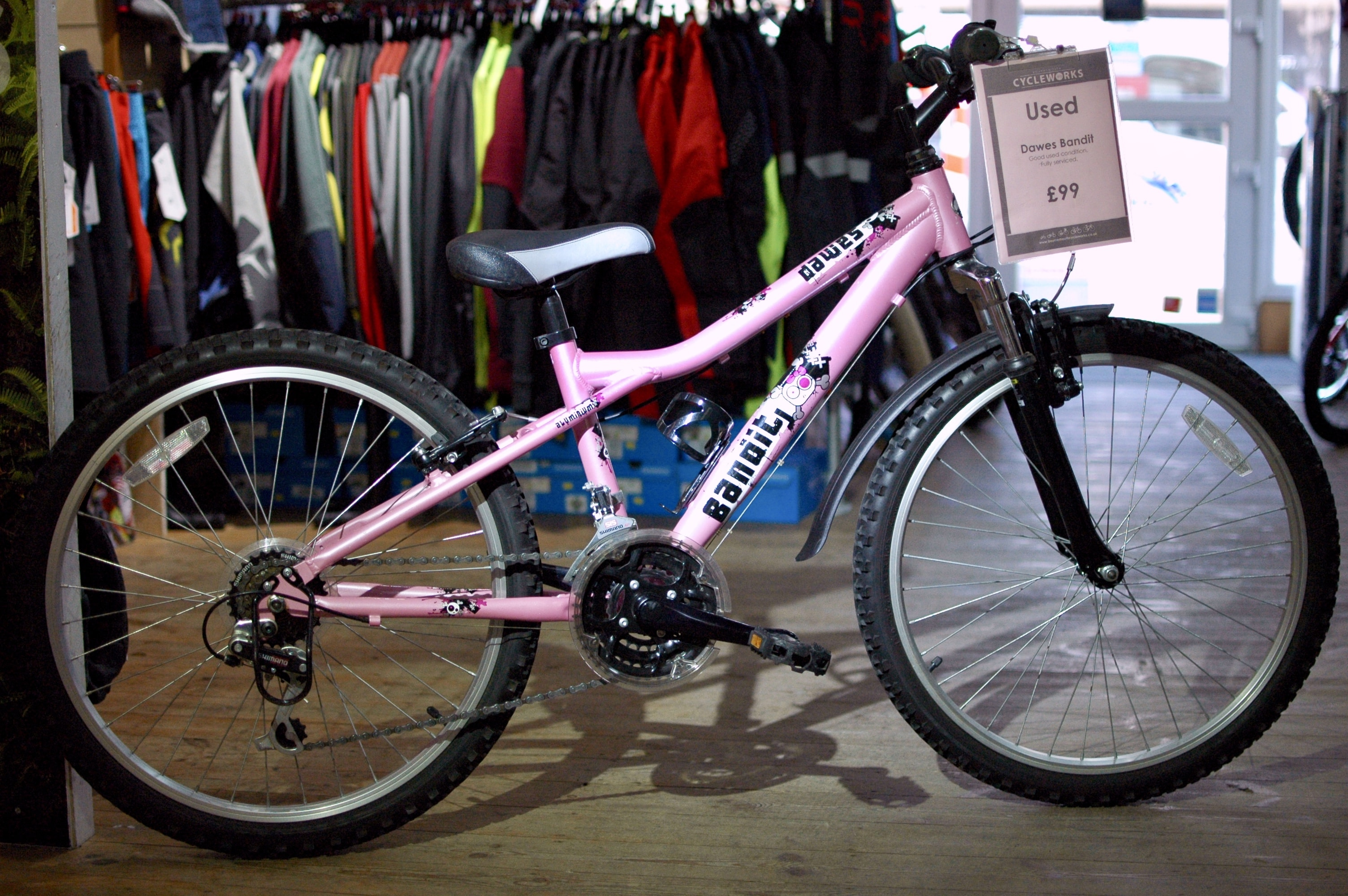 Used Bike - Dawes Bandit Pink - £99