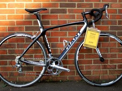 Used Bike - Giant Defy Composite 2012 Medium - £599