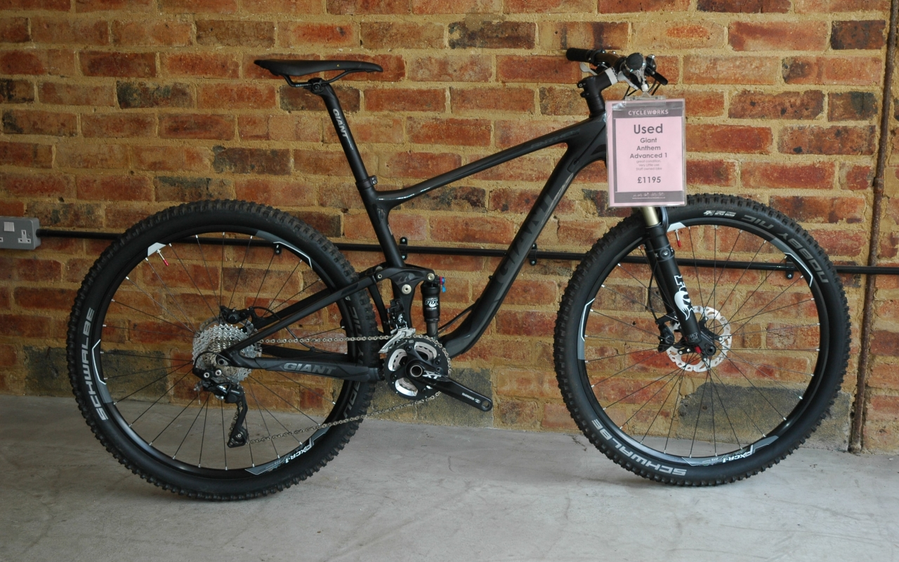 Used Bike - Giant Anthem Advanced 1 - 27.5 - 2014 - Medium - £1195