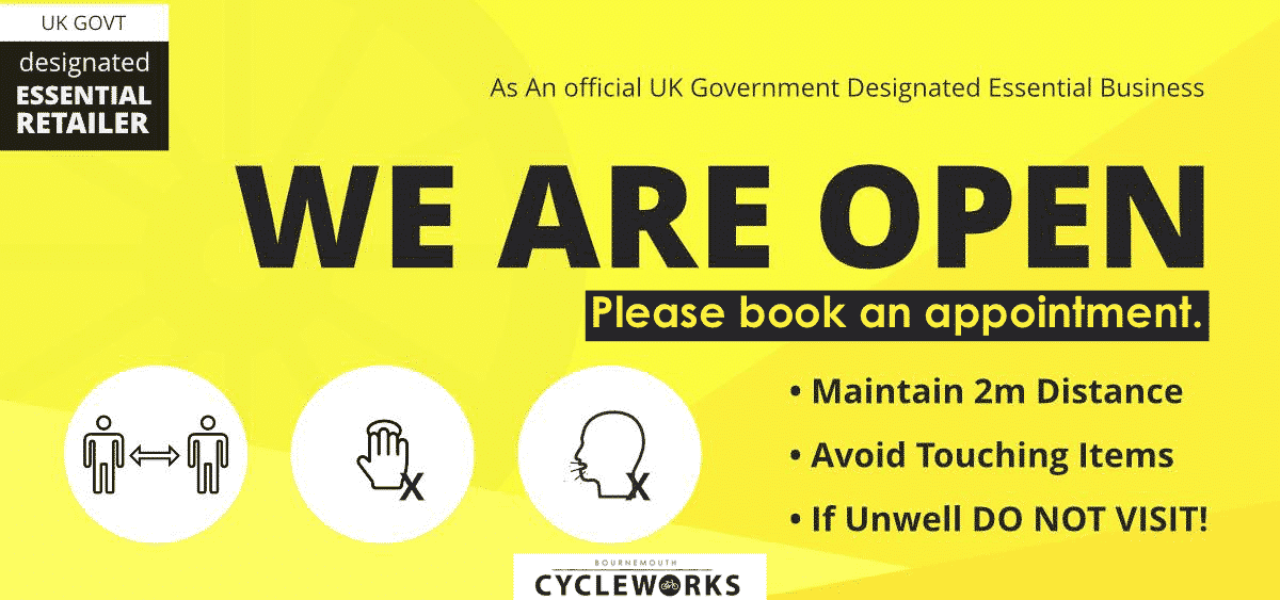 We are OPEN - By appointment ONLY